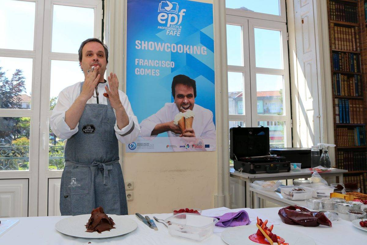 showcooking Chef Francisco Gomes