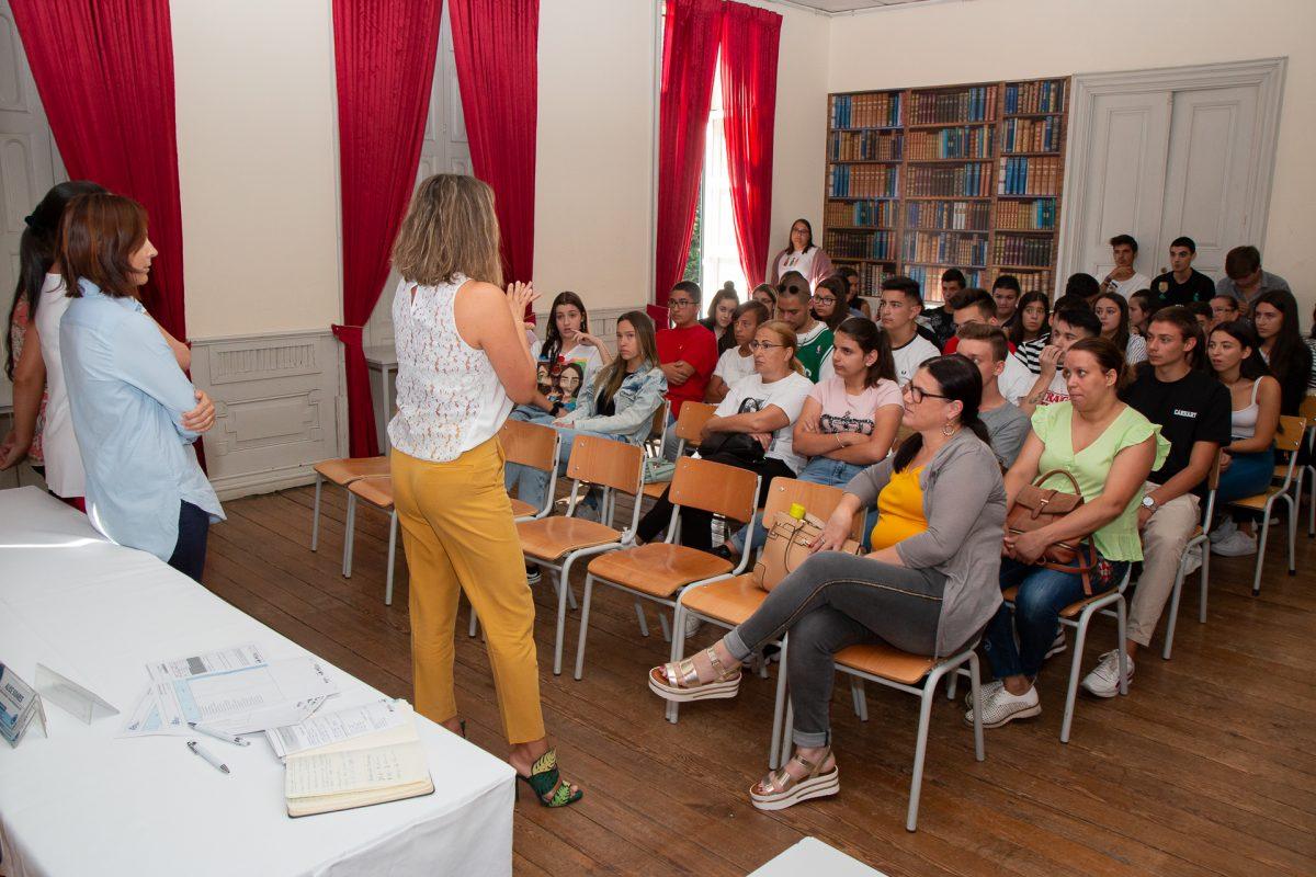 Receção a alunos na Escola Profissional de Fafe